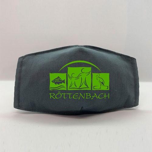 """Gesichtsmaske """"Röttenbach"""" grau"""