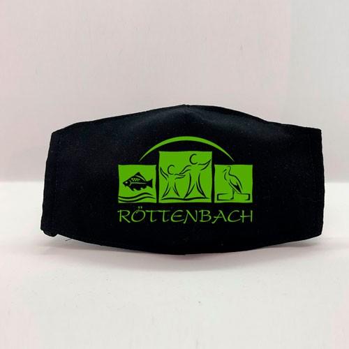 """Gesichtsmaske """"Röttenbach"""" schwarz"""