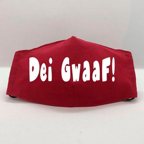 """Gesichtsmaske """"DEI GWAAF!"""""""