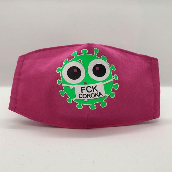"""Gesichtsmaske """"FCK Virus"""""""