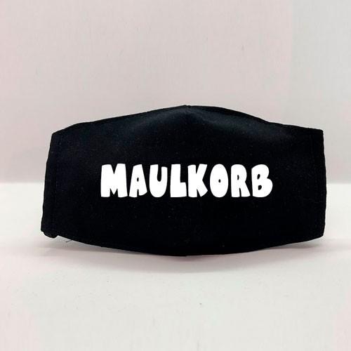 "Gesichtsmaske ""MAULKORB"" schwarz"
